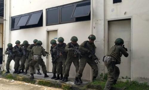 TNI Angkatan Udara (AU) dan United States Air Force Special Operations Command Pacific (US SOCPAC) menggelar latihan bersama di Lanud Suwondi Medan, Sumatera Utara (Sumut).  (Foto Ant)